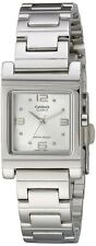 Casio LTP1237D-7A Ladies Stainless Steel Analog Dress Watch White Dial