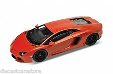 WELLY LAMBORGHINI AVENTADOR LP700 ORANGE 1/24 Diecast Car 24043