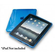 Syba CL-ACC62011 iPad PTU Skin Case, Anti-slip, Solid, Firm Grip, Blue Color