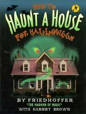How to Haunt a House for Halloween (Halloween Book)-ExLibrary