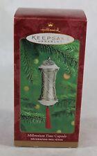 Hallmark Keepsake Ornament Millennium Time Capsule Dated 2000