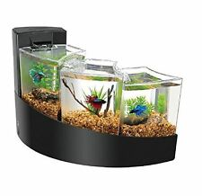 Aqueon Kit Betta Falls Starter Goldfish Home Decor Office Fish Tank Aquarium New