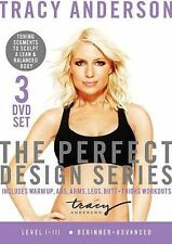Tracy Anderson: The Perfect Design Series - Level I-III (DVD, 2013, 3-Disc Set)