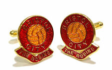 BRISTOL CITY (THE ROBINS) CUFFLINKS