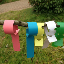 200X Plastic Plant Tree Hanging Markers Tags Nursery Seed Gardening Labels FG
