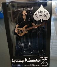 """Motorhead Lemmy Kilmister 6"""" Action Figure with Bass, Strap, Mic and Stand"""