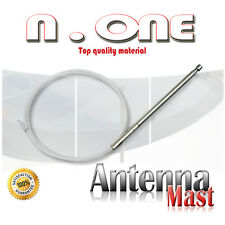 Power AM/FM Radio Antenna Mast Replacement+Tooth Core Volvo 740 760 850 940 960