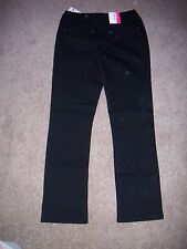 "Long Tall Sally, Size 14 L34"" Black straight denim jeans - NWT"