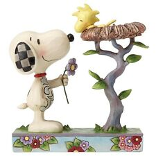 Jim Shore PEANUTS Figurine Snoopy & Woodstock Nest Warming Gifts Ornament
