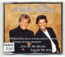 Modern Talking Maxi-CD You're My Heart You're My Soul 1998 - MADE IN POLAND !!