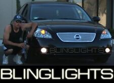 Xenon Fog Lamps Driving Lights Kit for 2002 2003 2004 Nissan Altima