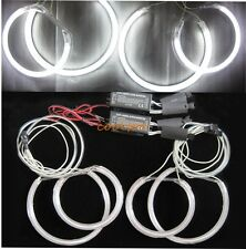 Bright CCFL ANGEL EYES HALO RINGS bulbs lamps BMW E46ti E83 X3 kit - 7000K white