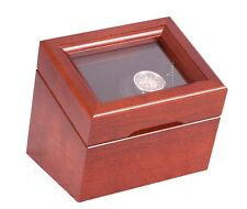 Watch Winder Single Automatic Rotator Case Rocker Self Winding Box Shaker Wrist