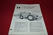 International Harvester 370 Scarifier Dealer's Brochure DCPA7