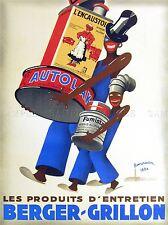 Publicité produits d'entretien des produits de nettoyage français imprimer LV400