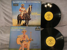 2 Records 1 Price! Ernest Tubb, The Daddy Of 'Em All / Rex Allen, Mister Cowboy