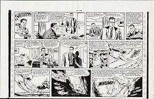 SUPERMAN 1961 ORIGINAL SUNDAY COMIC STRIP PROOF PAGE PRODUCTION ART WAYNE BORING