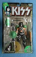 PETER CRISS KISS MCFARLANE 7 INCH FIGURE WITH MODEL RECORD ALBUM 1997