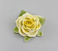 Porzellan Gelbe Tischrose  Kämmer Thüringen 9944131