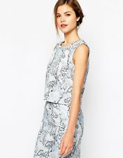 Oasis Marble Jacquard Top 16