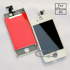 White LCD For iPhone 4S replacement screen Touch Digitizer & Touch with tools
