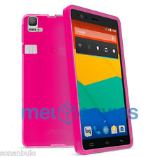 "Funda para BQ AQUARIS E6 / FNAC PHABLET 6"" HD FHD GEL TPU LISO MATE Color ROSA"