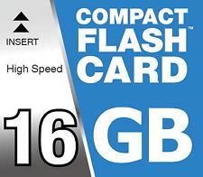 16GB CF High Speed 150x Compact Flash Speicherkarte für Canon EOS 40D 7D