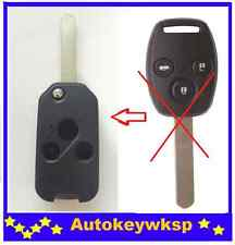 REMOTE 3 BUTTONS FLIP KEY SHELL CASE suit HONDA JAZZ CRV Odyssey CIVIC ACCORD