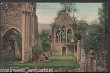 Wales Postcard - The Nave - Valle Crucis Abbey  RT702