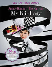 BLU-RAY My Fair Lady: 50th Anniversary Edition (Blu-Ray +DVD) NEW Audrey Hepburn