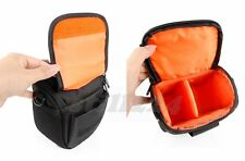 PENTAX X-5 Camera Camcorder Case Bag Shoulder Strap Memory Card Mobile Pocket