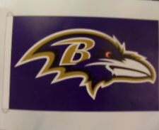 Baltimore Ravens HOUSE with D Rings Flag 3'x5'