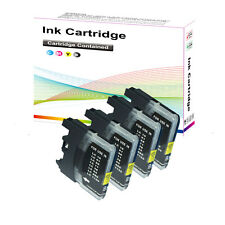4 Black Ink Cartridges for Brother MFC 6490CW 6870CDW
