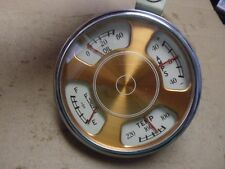 Antique vintage car truck, Checker Cab 50-53 instrument cluster Stewart Warner