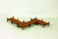 Japan PLANK WALKWAY – SAMURAI / JAPANESE 28mm Laser cut MDF scale Building B008