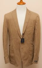 NWT Polo Ralph Lauren Cotton Beige Casual Slim Blazer Sportcoat Jacket 42R