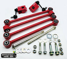 Subaru Impreza GC8 92-00 STI Pink Rear Lateral Link Set with Bolts (S201 P1 WRX)