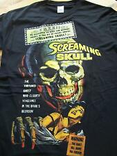 New,SCREAMING SKULL T-Shirt Size M.Vintage Horror Film,Alex Nicol,Ghosts,Voodoo