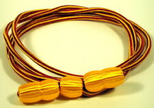 US Army Ordnance Red & Yellow Drill Instructor Sergeant Hat Cap Cord with Acorns