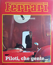 Enzo Ferrari Piloti che gente 1987 F1 Formula 1 Motor racing English edition