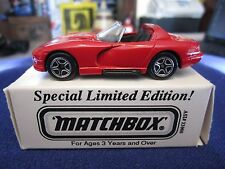 Matchbox ASAP Color Comp Dodge Viper Yasnac PC NC Yaskawa Energy Motion Can Fly