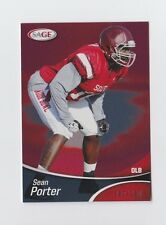 2013 SAGE #SP41 Sean Porter numbered /199 RC Parallel Texas A&M Jaguars