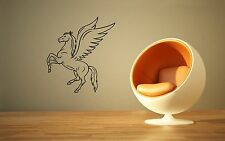 Wall Stickers Vinyl Decal Pegasus Winged Horse Mythical Creature Legend ig228