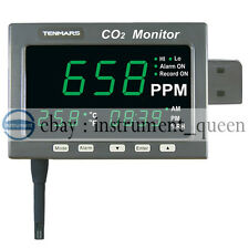 TENMARS TM-186D Large LED Screen CO2  / Temperature / Datalogger