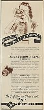 Y8484 AGFA Isochrom et Isopan - Pubblicità d'epoca - 1938 Old advertising