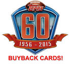 2015 TOPPS NFL FOOTBALL BUYBACK CARD  1959-1988  YOU PICK THE CARD YOU WANT