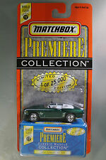Matchbox 1:64 Scale Premiere Street Machines Collection '69 CAMARO SS 396 GREEN