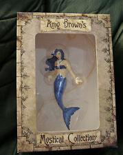 AMY BROWN'S HANGING MERMAID 'LIQUID SAPPHIRE' NEW IN BOX!  RARE