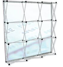 NEW Testrite Presto Trade Show Wall 7x7 Display Pop Up Booth FRAME ONLY Backdrop