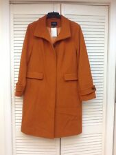 Lands' End Wool Blend Winter Coat, Fully Lined, Size 14W Plus, NWT